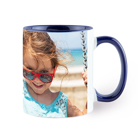 Navy Colorful Mug