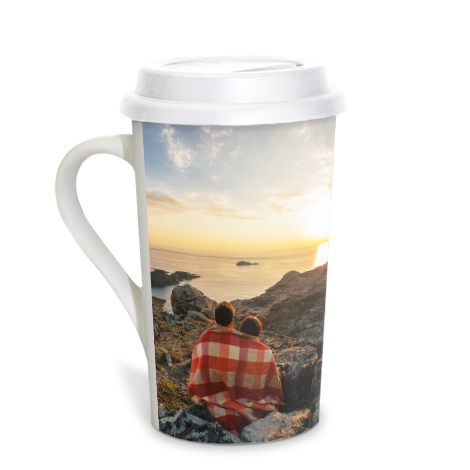Grande Coffee Mug, 16 oz with lid